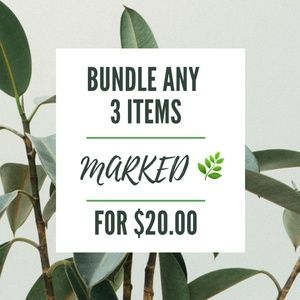 BUNDLE 3 items for $20!!!